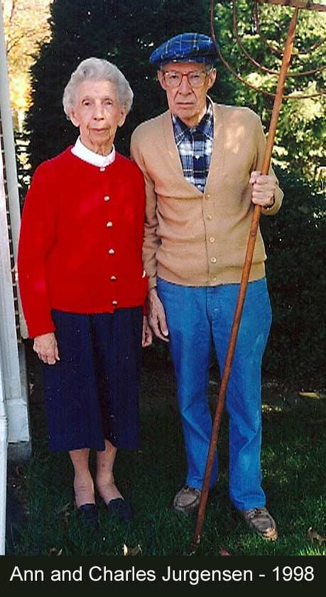 Ann and Charlie Jurgensen - 1998